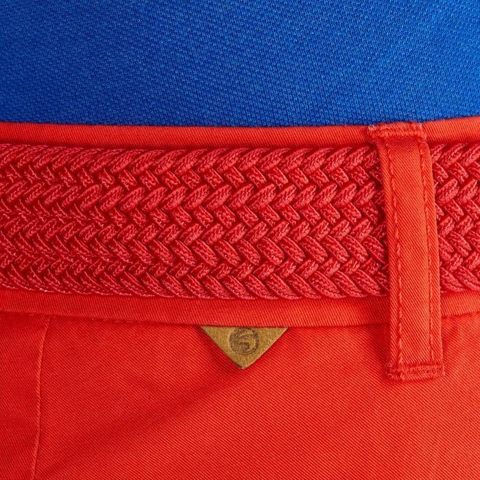 Golf Bermuda Shorts 500 Damen mildwarm rot