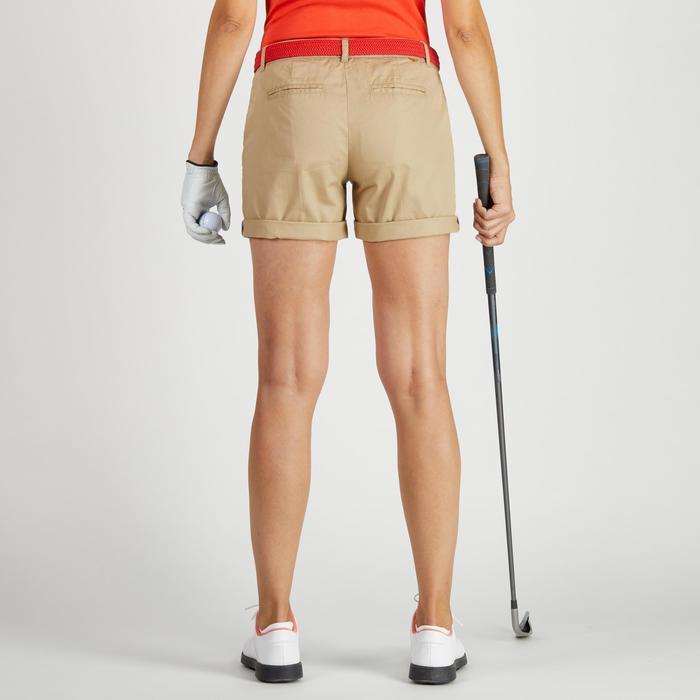 Golf Bermuda Shorts 500 Damen mildwarm beige
