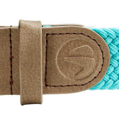 Sabuk elastis golf lentur turquoise dewasa ukuran 1
