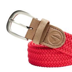 Cinturón de golf extensible 500 adulto rojo talla 2