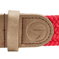 Rekbare riem 500 voor golf volwassenen rood maat 2