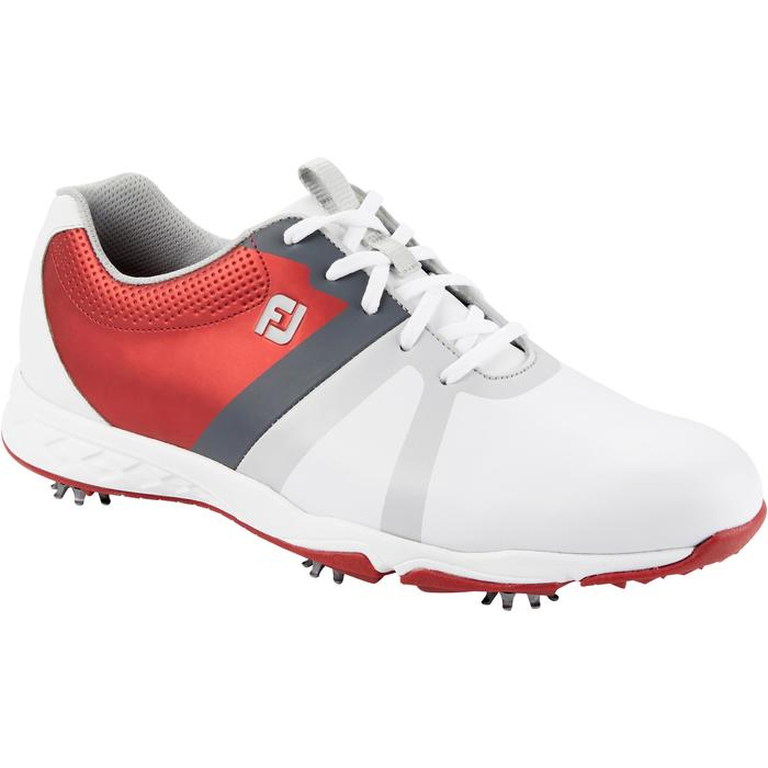 CHAUSSURES GOLF HOMME ENERGIZE BLANCHES ET rouges