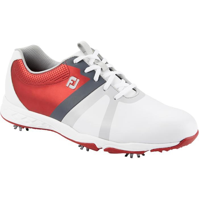 Golfschuhe Energize BOA Herren weiß/rot