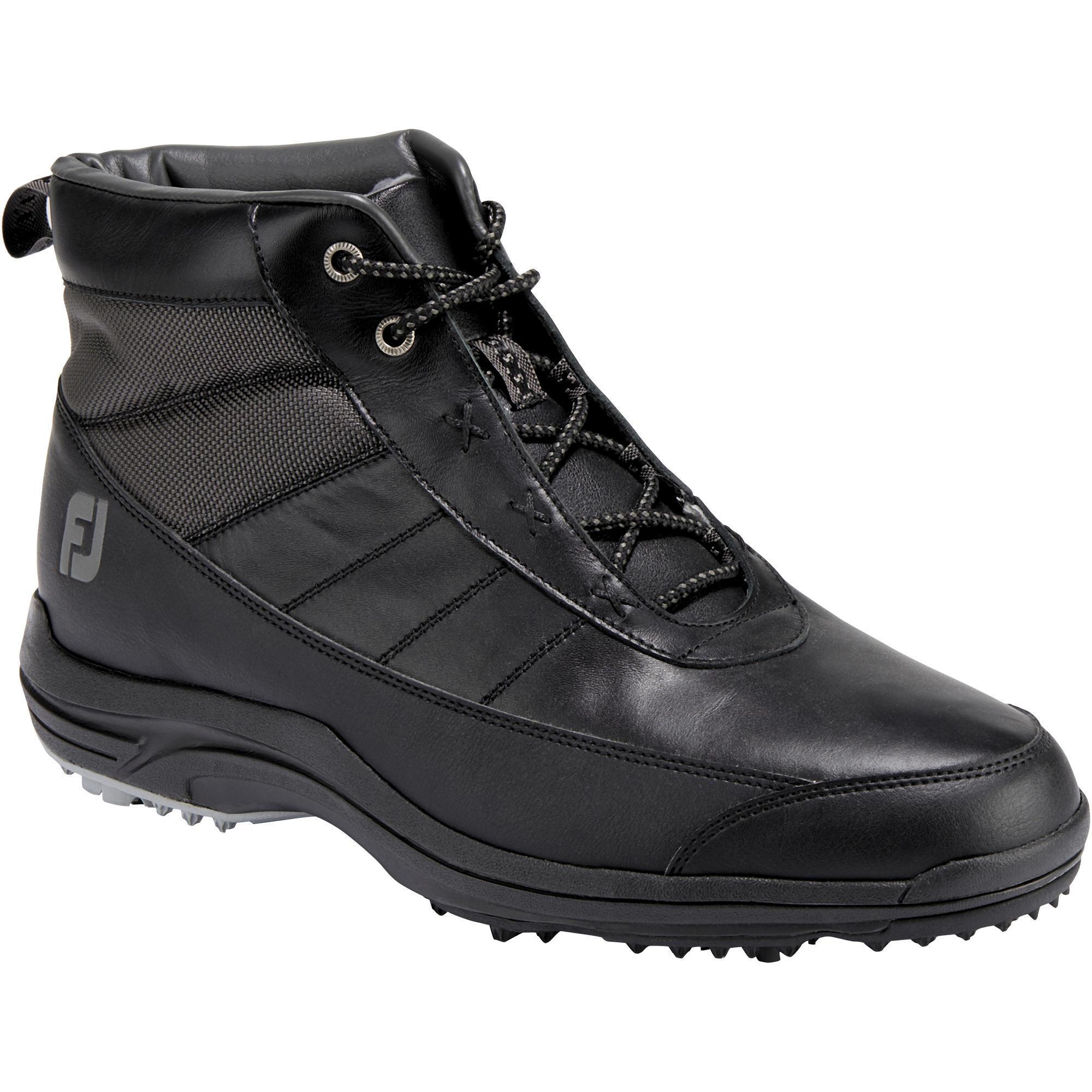 Footjoy Halfhoge golfschoenen voor heren zwart