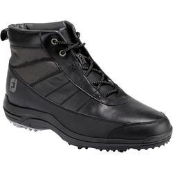 Halfhoge golfschoenen voor heren zwart
