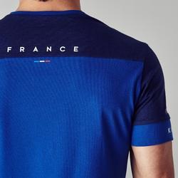 Voetbalshirt Frankrijk FF100 voor volwassenen blauw