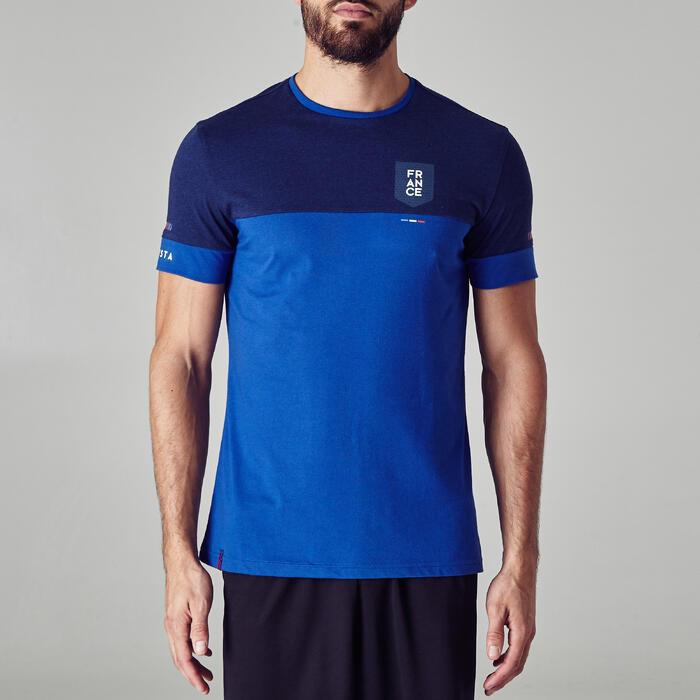 Camiseta de Fútbol adulto Kipsta FF100 Francia azul
