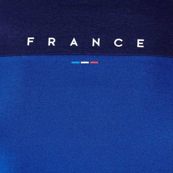 T-shirt de football adulte FF100 France bleu