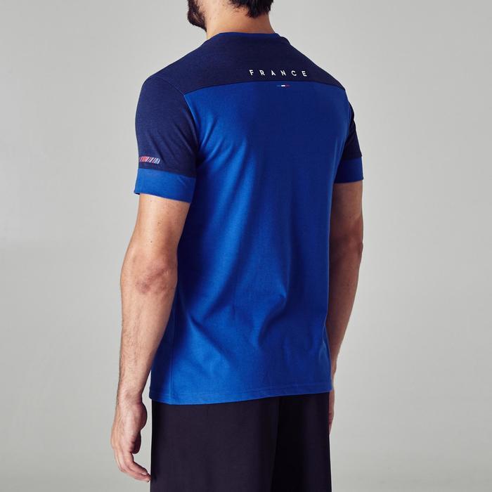 Fussballshirt FF100 Frankreich Erwachsene blau