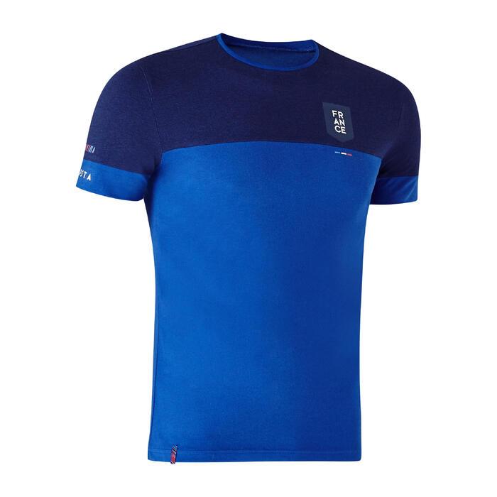 Voetbalshirt FF100 voor volwassenen Frankrijk blauw