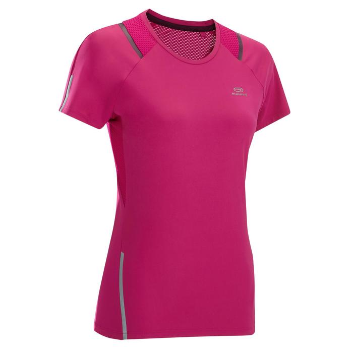 T-SHIRT MANCHES C. JOGGING FEMME RUN DRY+ ROSE