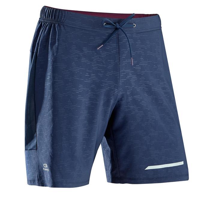 Hardloopshort voor heren Run Dry+ marineblauw