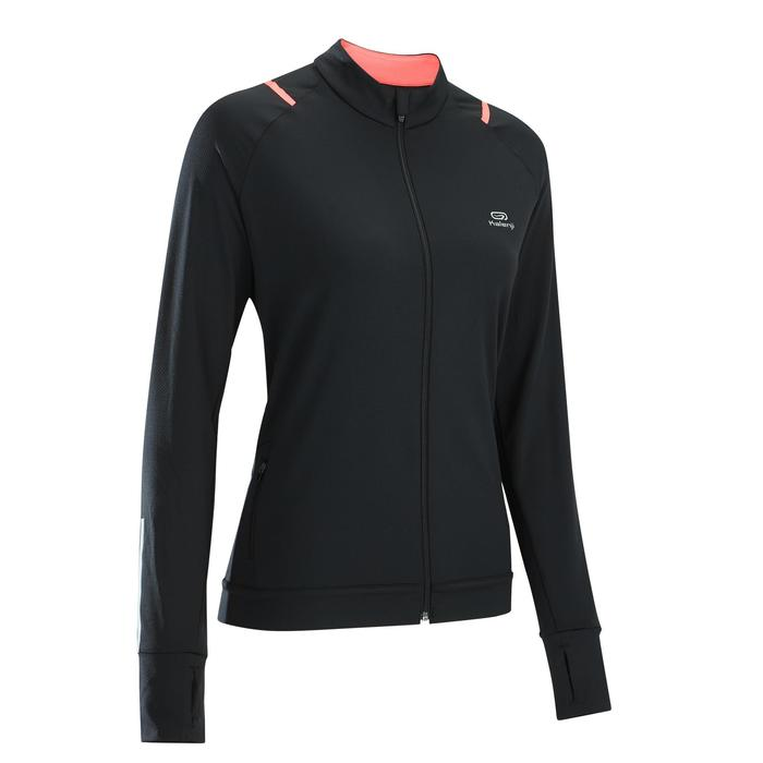 CHAQUE DE RUNNING PARA MUJER RUN DRY NEGRO CORAL