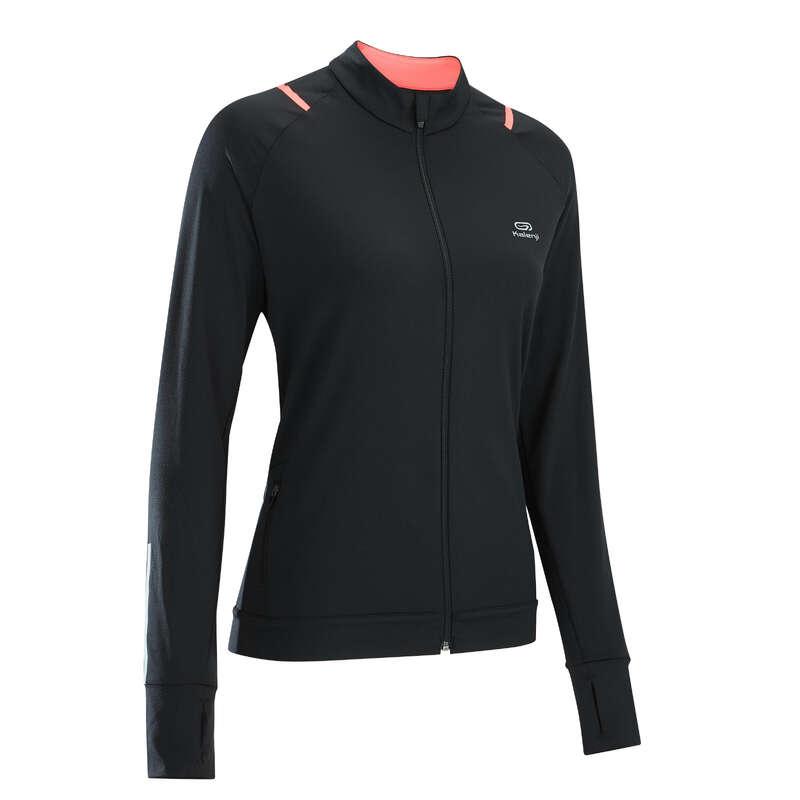 ABBIGLIAMENTO TRASPIRANTE DONNA RUNNING OCCASIONALE Running, Trail, Atletica - Giacca running donna RUN DRY KALENJI - Abbigliamento Running