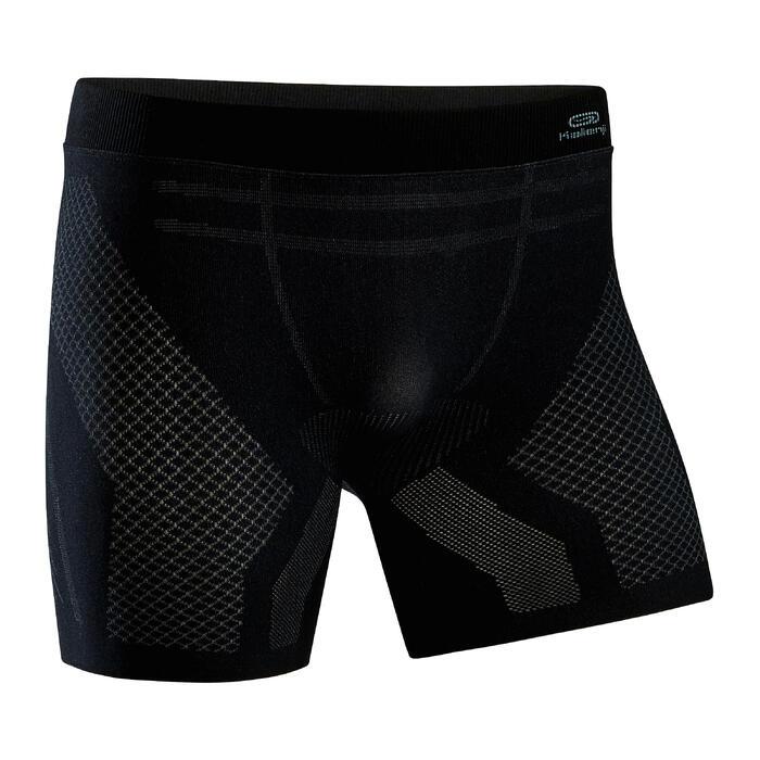 Men's Seamless Running Boxers - black
