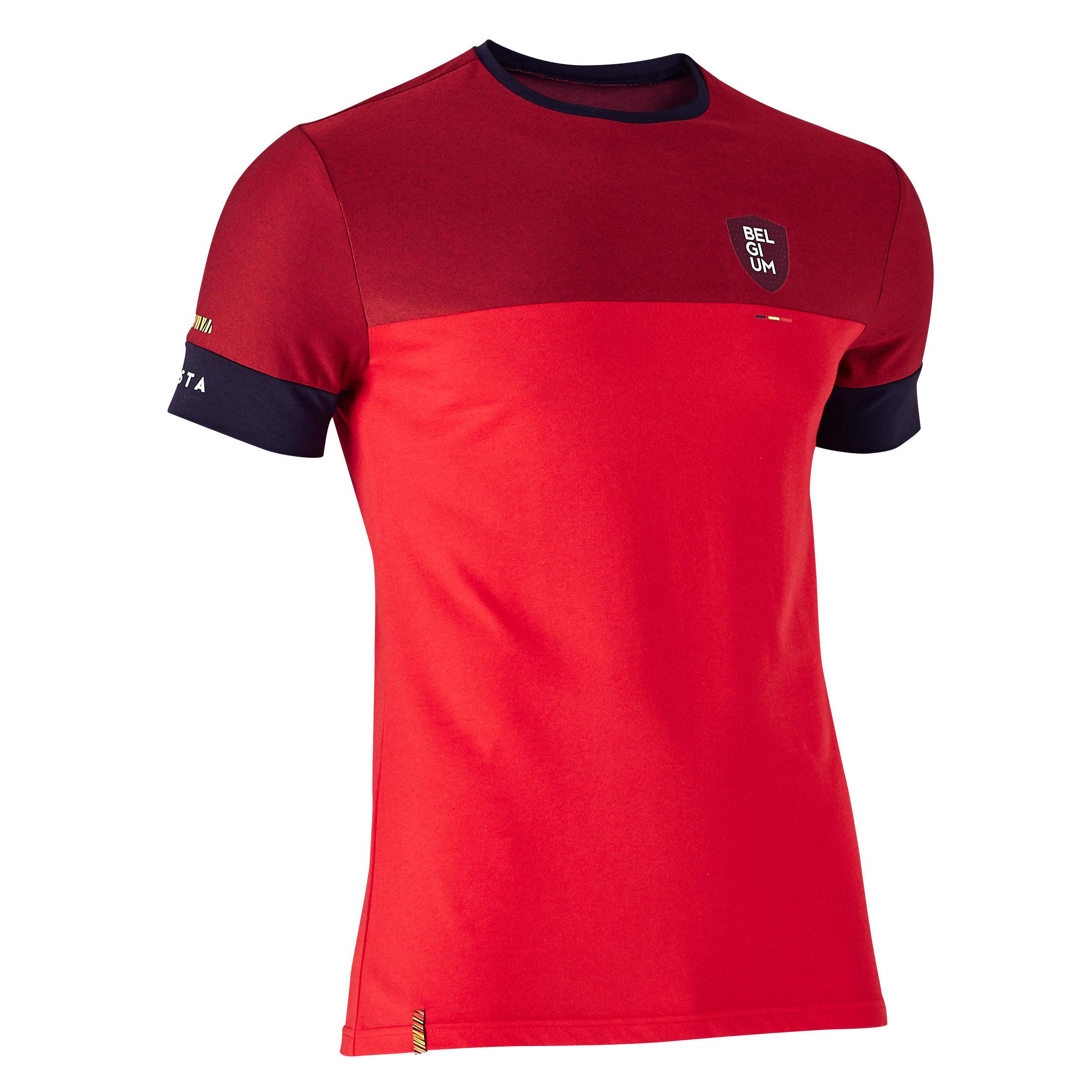 Kipsta Voetbalshirt Belgi� voor volwassenen FF100 rood