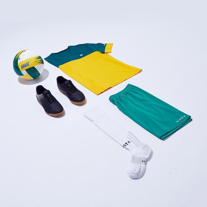 T-shirt de football adulte FF100 Brésil - 1276268