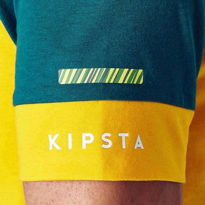 T-shirt de football adulte FF100 Brésil - 1276270