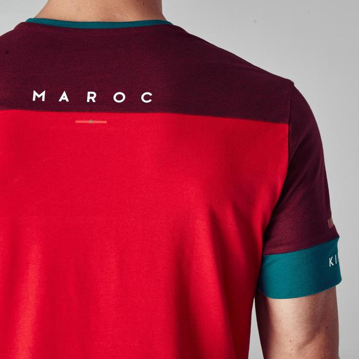 T-shirt de football adulte FF100 Maroc - 1276310