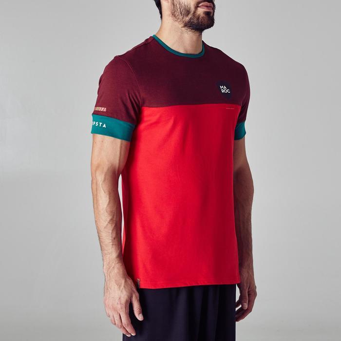 T-shirt de football adulte FF100 Maroc - 1276311