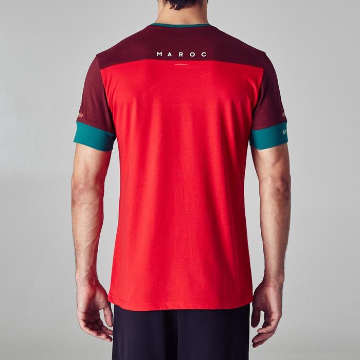 T-shirt de football adulte FF100 Maroc - 1276313