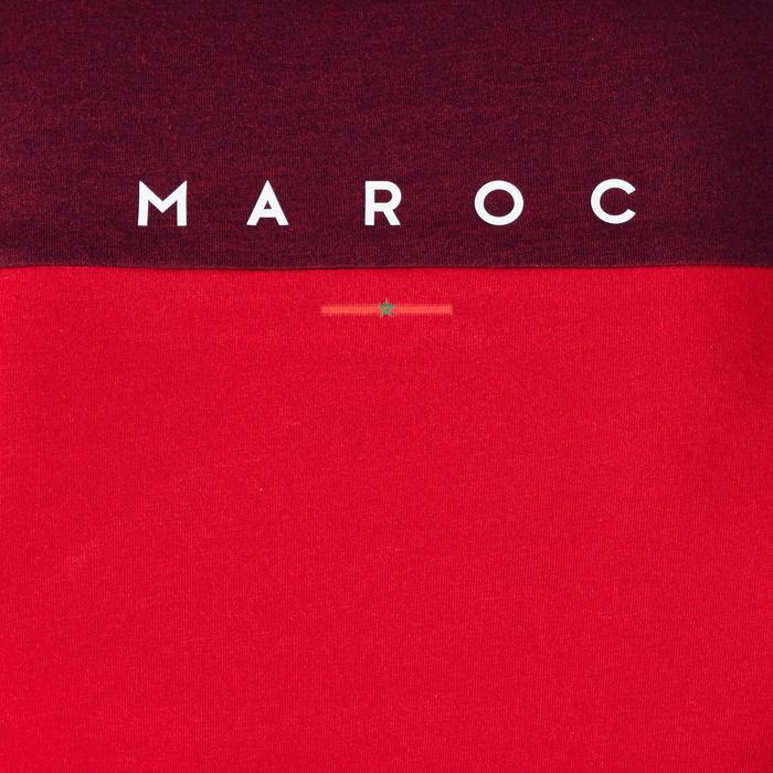 T-shirt de football adulte FF100 Maroc - 1276315
