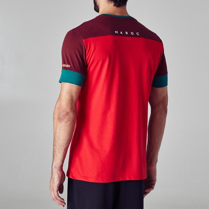 T-shirt de football adulte FF100 Maroc - 1276317