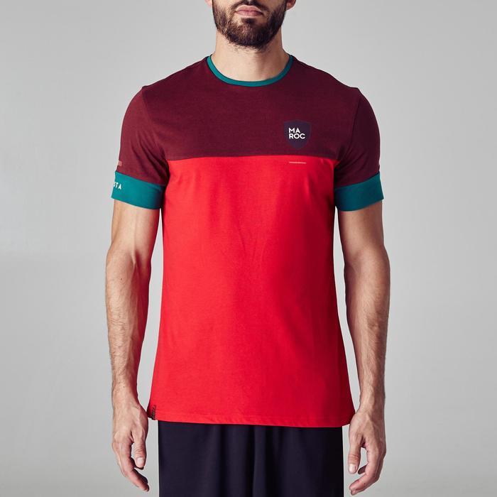 T-shirt de football adulte FF100 Maroc - 1276318