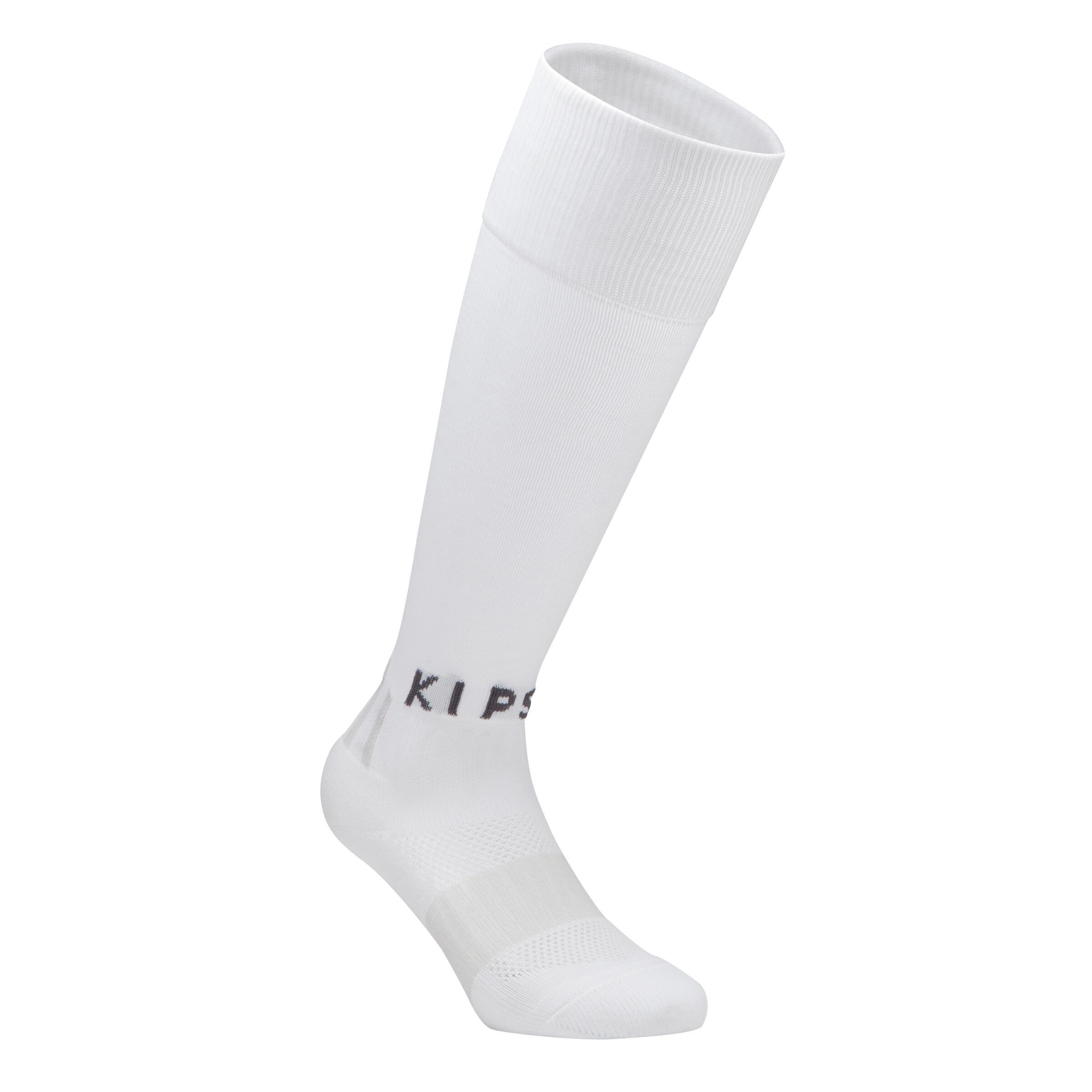 F500 Children's Knee-High Football Socks - White