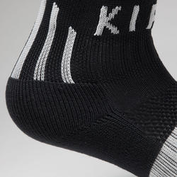 F500 Kids' Soccer Socks - Black/Grey