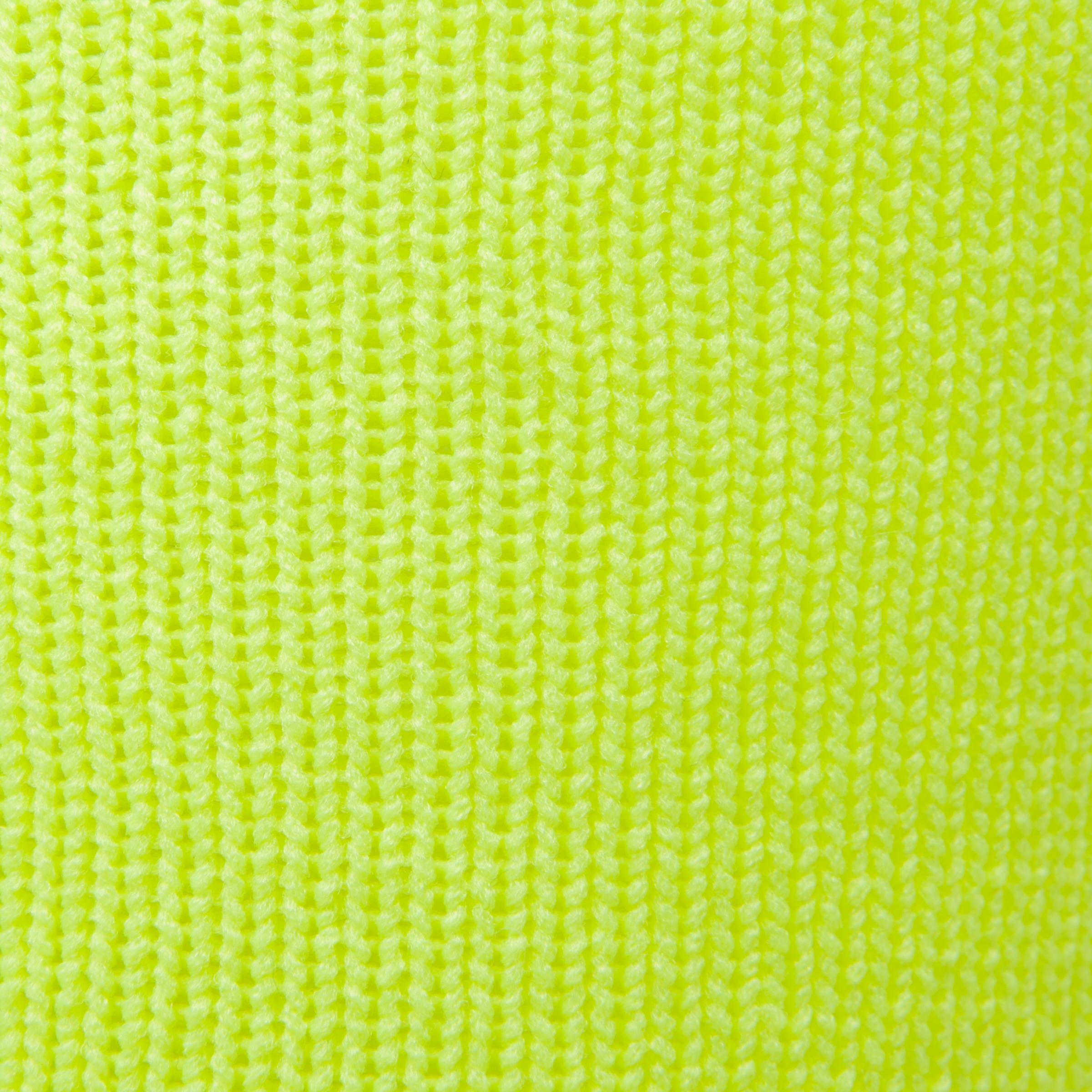 F500 Junior Football Shirt - Neon Yellow