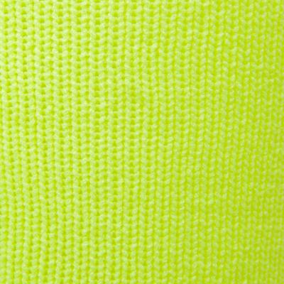 Medias de fútbol niños F500 amarillo fluorescente