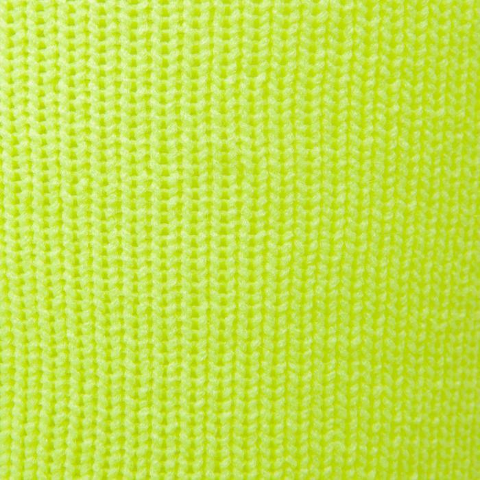 Chaussette de football enfant F500 noire et grise - 1276368