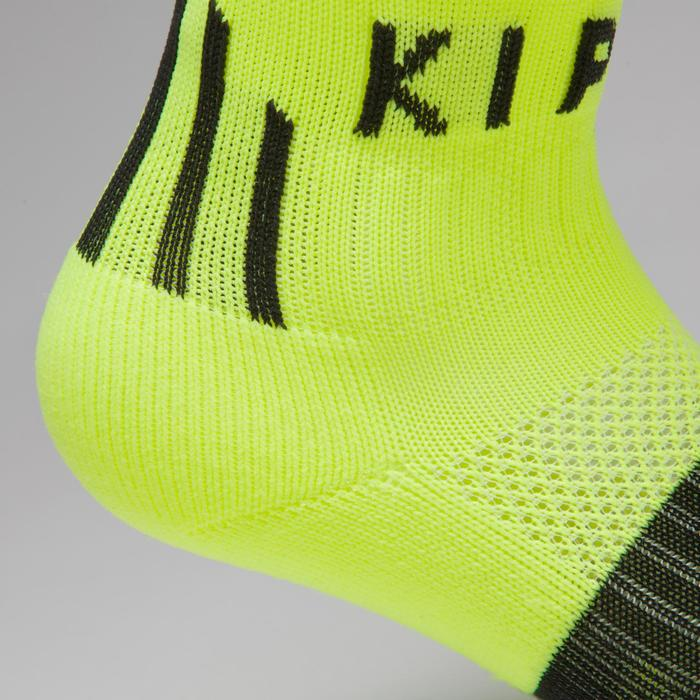 F500 Junior Football Shirt - Neon Yellow