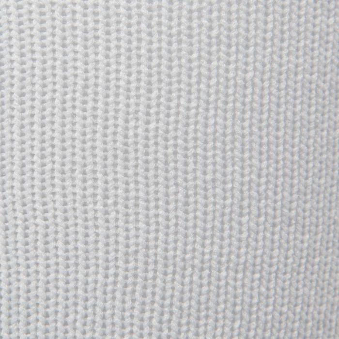 Chaussette de football enfant F500 noire et grise - 1276381