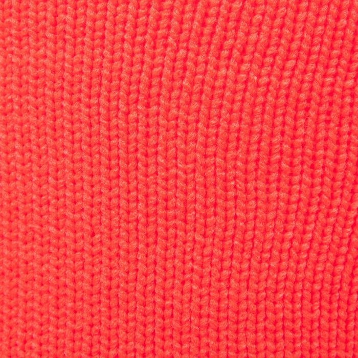 Fußballstutzen F500 Kinder orange/grau