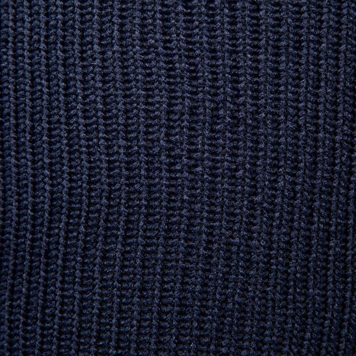 Chaussette de football enfant F500 noire et grise - 1276399