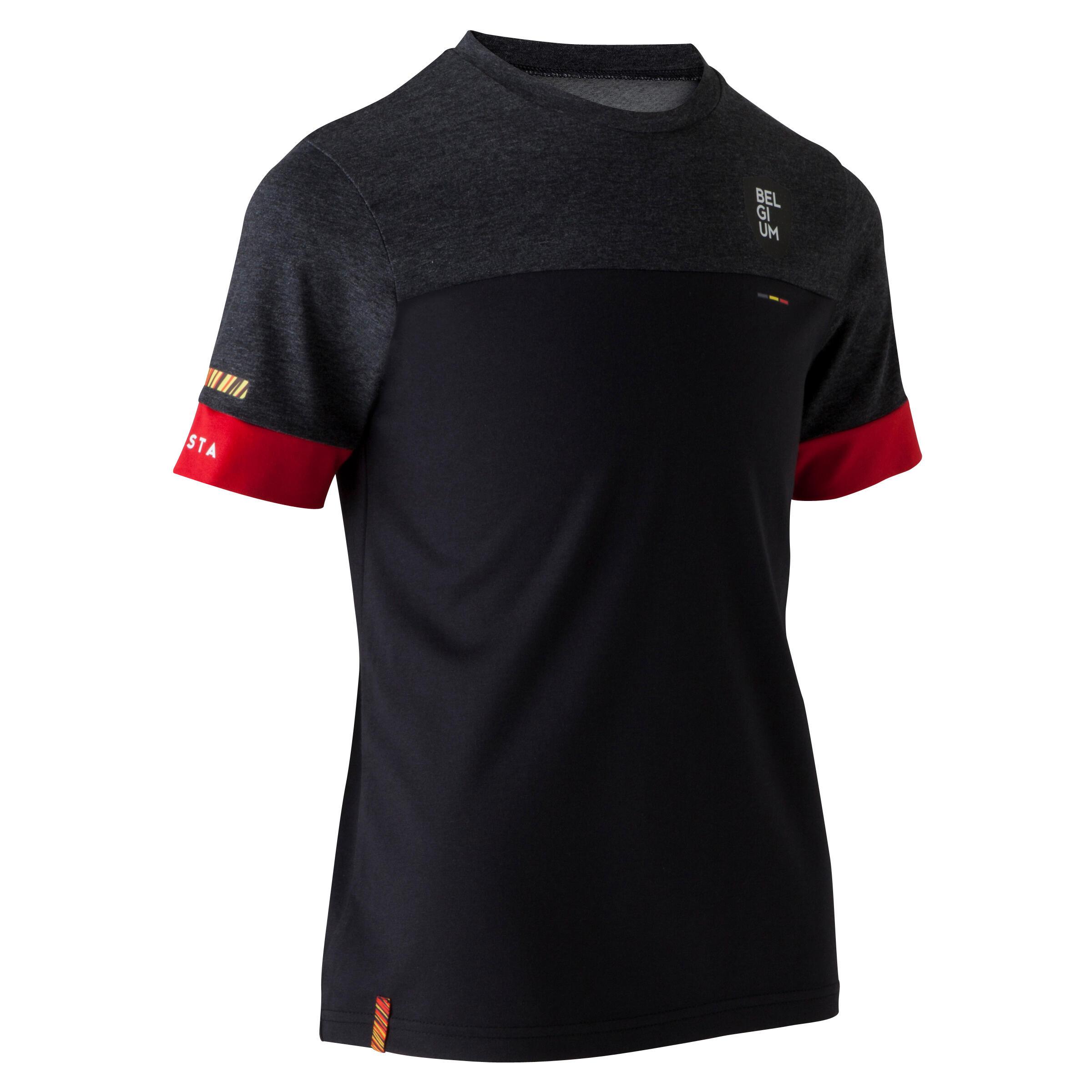 Kipsta Voetbalshirt Belgi� FF100 voor kinderen zwart