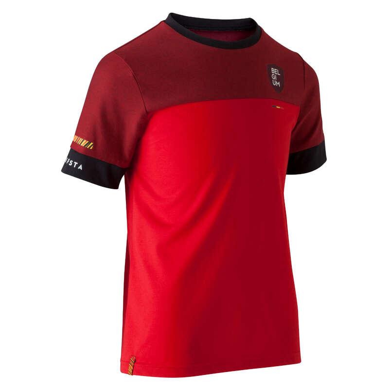 BELGIE Fotbal - DĚTSKÉ TRIČKO FF100 BELGIE KIPSTA - Fotbalové oblečení