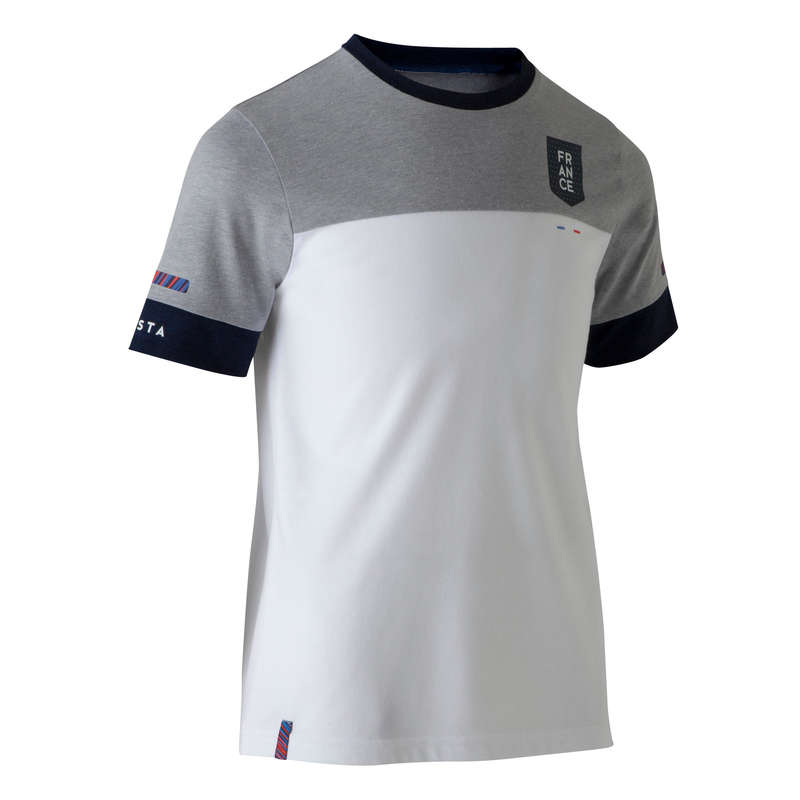 FRANCE NATIONAL TEAM - FF100 France Kids' - White KIPSTA