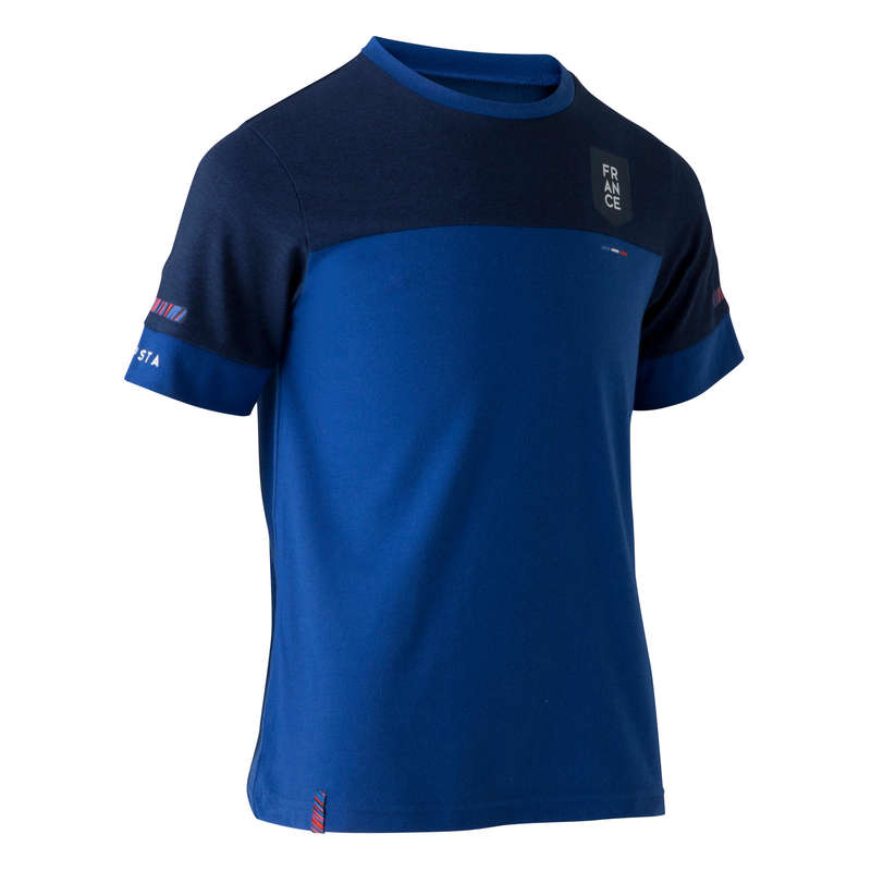 FRANCE NATIONAL TEAM Football - FF100 Kids' T-Shirt KIPSTA - Football Clothing