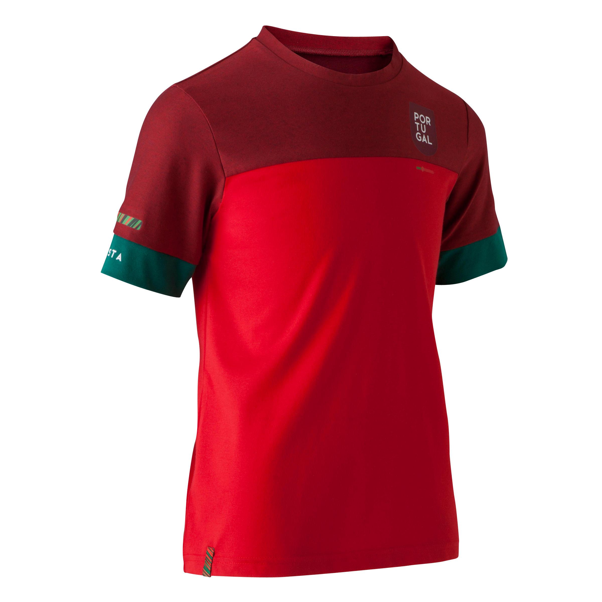 Kipsta Voetbalshirt voor kinderen FF100 Portugal