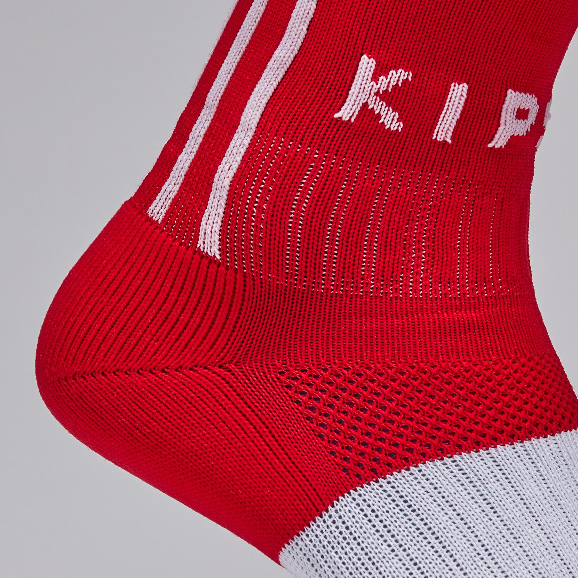 Kipsta F500 Adult Football Socks Red