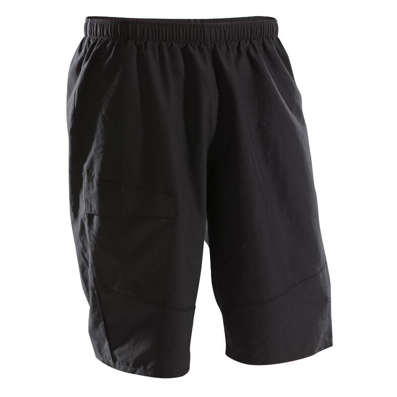 Short MTB ST 100 hombre negro