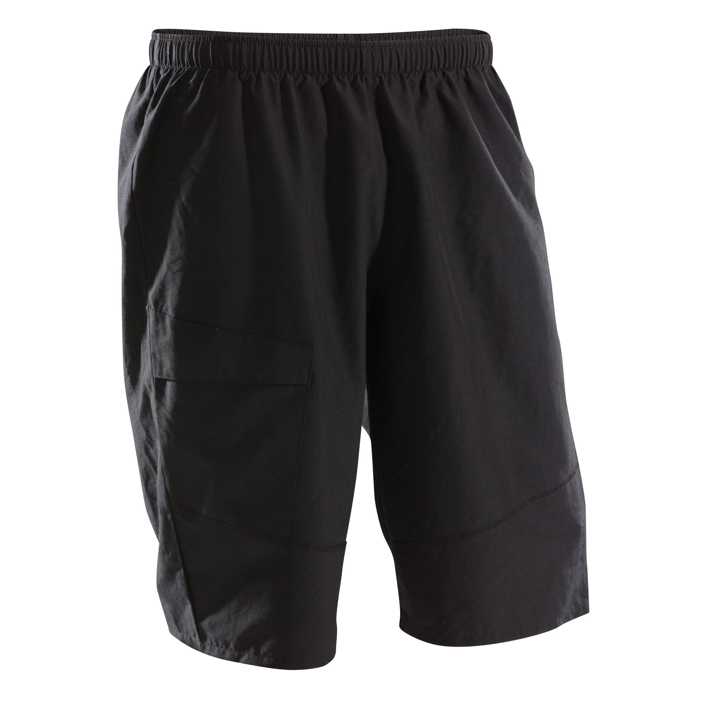 Short negro para hombre BTT ST 100