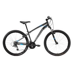 "MTB Rockrider ST100 27.5"" B'TWIN 3x7-speed mountainbike Grijs"