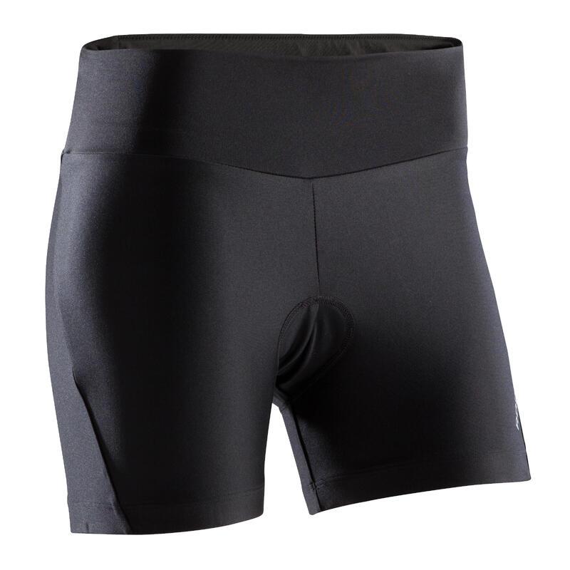 Women's Mountain Biking Cycling Shorts ST100 - Black