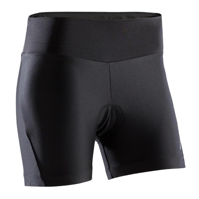 Shorty VTT ST 100 Femme Noir - 1276551