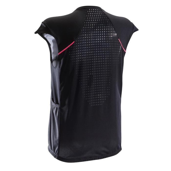 Camiseta sin mangas BTT ST 500 Mujer Negro