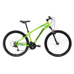 "Mountainbike 27,5"" MTB Rockrider ST 100 neongelb"
